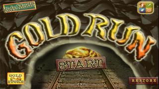 Gold Run : Mine Cart Battle Rush Heroes screenshot one