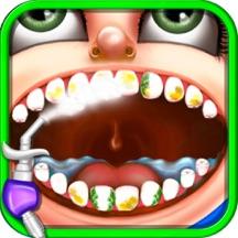 疯狂的牙齿手术 - 牙医模拟器小医生