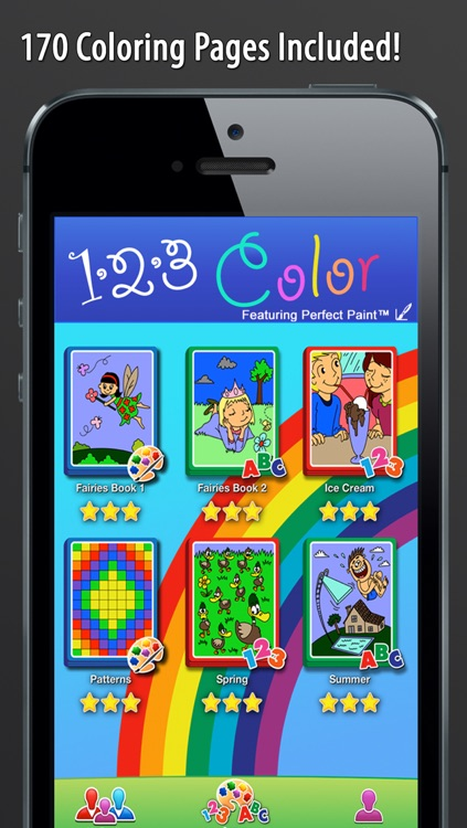 123 Color: Talking Coloring Book (Words Spoken In English, Spanish, French, and German) screenshot-4