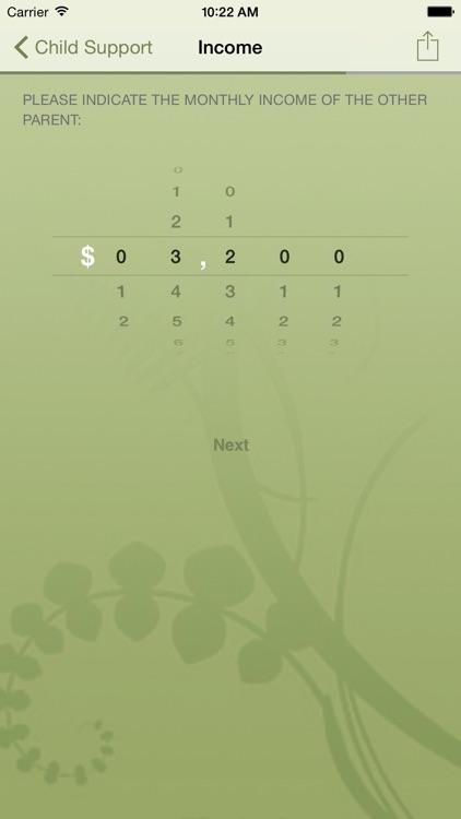 Alabama Child Support Calculator screenshot-3