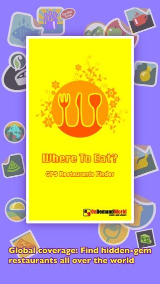 Screenshot for Où manger ? PRO - Trouver des restaurants avec le GPS. in Lebanon App Store