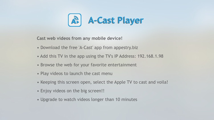A-Cast Player