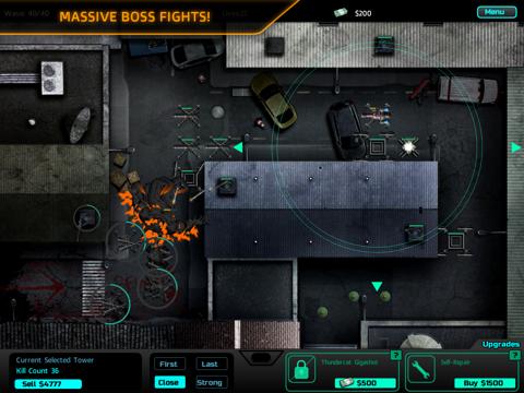 SAS: Zombie Assault TD HD iPad app afbeelding 4
