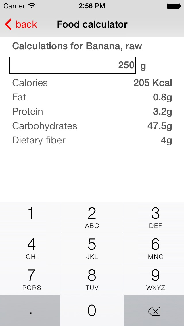 Diet Signal - LCHF/ketogenic/low carb food guide Screenshot on iOS