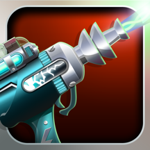 "Tap and Zap - A ""Through the Camera"" Ray Gun App"