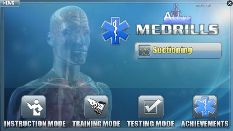Medrills: Suctioning Airway