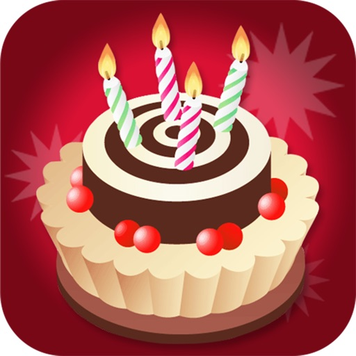 Birthday Card Maker - Wish happy birthday with best photo greeting ecard and sms message icon
