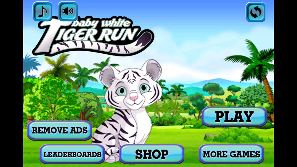 Baby White Tiger Run : Dash Race with Mittens the Super Sonic Cub Cheat Codes