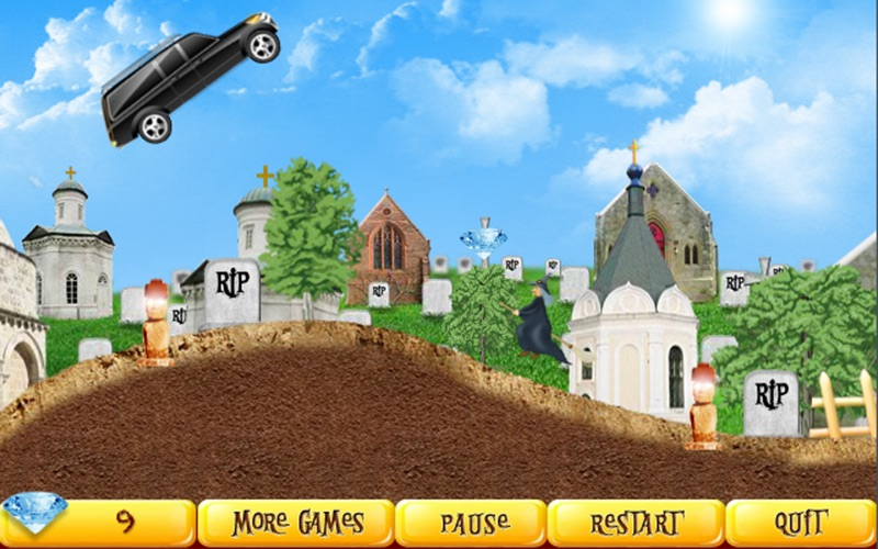 Halloween Racer Free screenshot 2