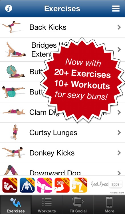 Butt Workouts Free