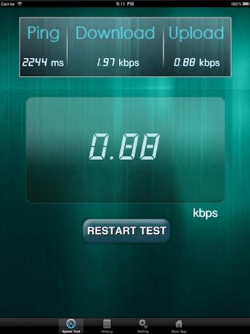 Net Speed Test Lite Скриншоты8