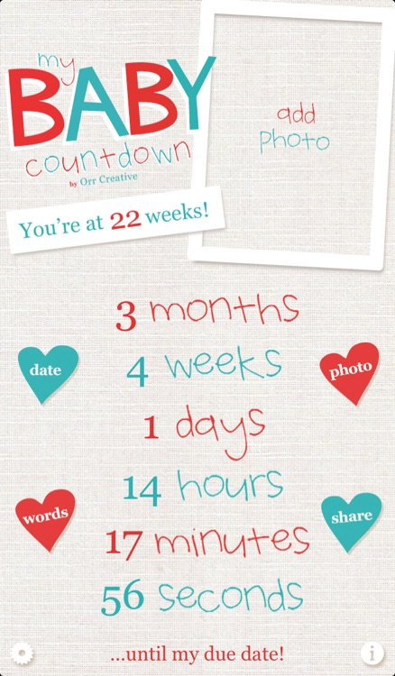 My Baby Countdown screenshot-0