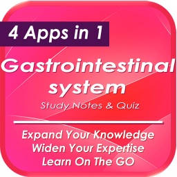 Gastrointestinal System: 1300 Study Notes & Quiz (USMLE)