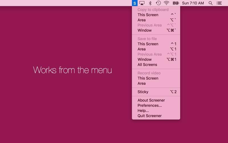 Screener: Screenshot Utility скриншот программы 1