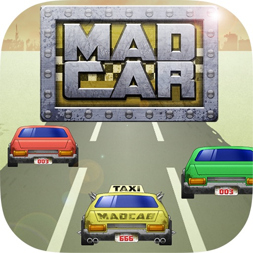 Mad Car FREE icon