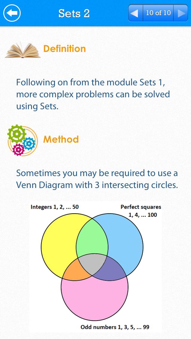 SAT Math Review : Free Edition screenshot three