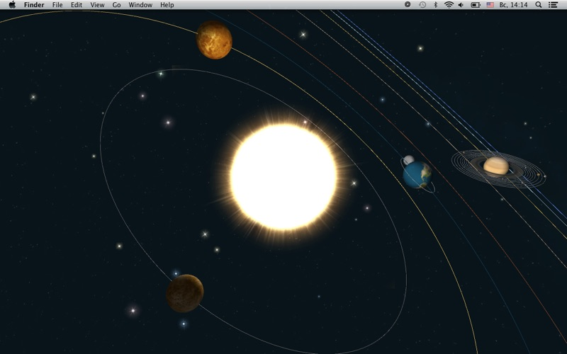 Screenshot 1 For Planets Live Wallpaper