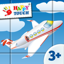Airport 9 Pieces Puzzle Set - Game for Kids by HappyTouch® Free