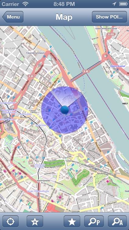 Rheinland Pfalz Germany Map Place Stars By Place Stars Inc