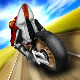 2D Highway Moto Bike Game FREE - Real Fast Motorbike & Motorcycle Racing Games