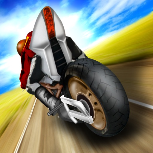 2D Highway Moto Bike Game FREE - Real Fast Motorbike & Motorcycle Racing Games icon