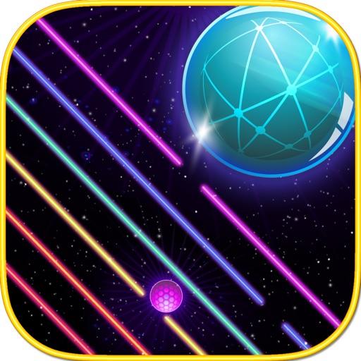 Falling Neon Ball