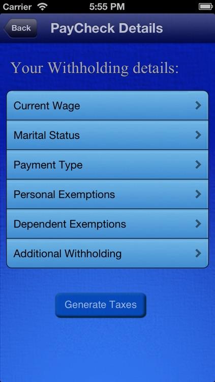 MUDIAM US Payroll Tax Calculator
