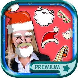 Christmas photo editor - photo stickers of Santa Claus and Christmas - Premium