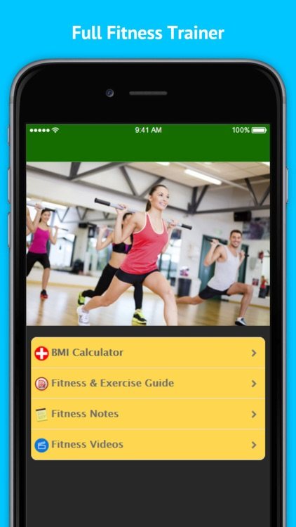 Full Fitness - Hundreds of Unique Exercises screenshot-3