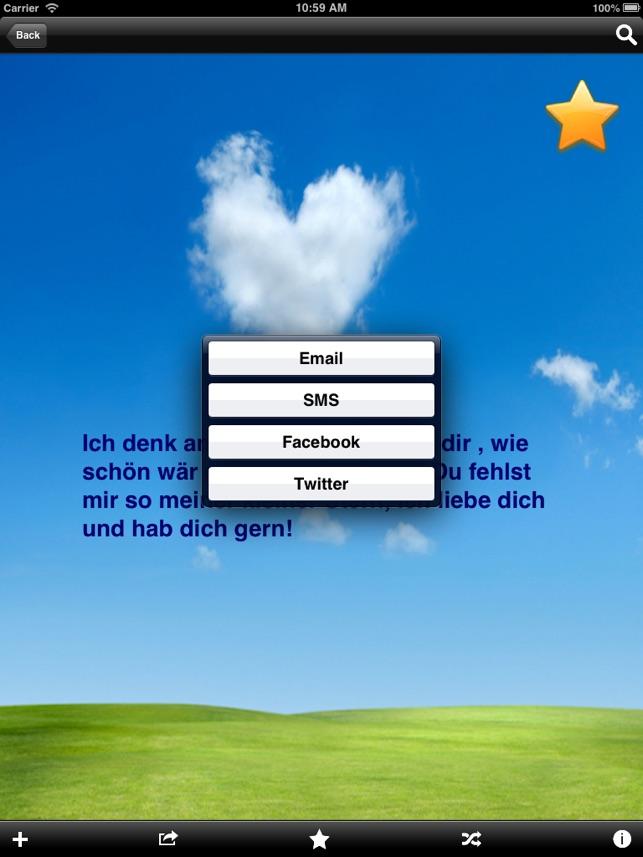 Liebessprüche Im App Store