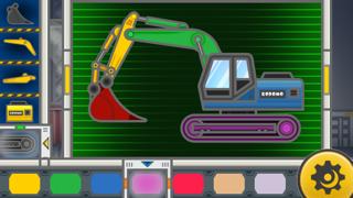 コドモアプリ 第5弾 - うごかす - ショベルカー -のおすすめ画像5