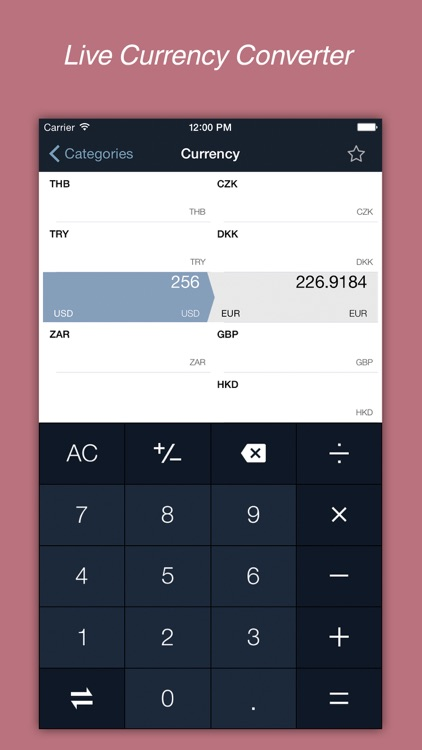 Convert Unit Pro - Units and Currency Converter - Metric to Imperial Conversion screenshot-4