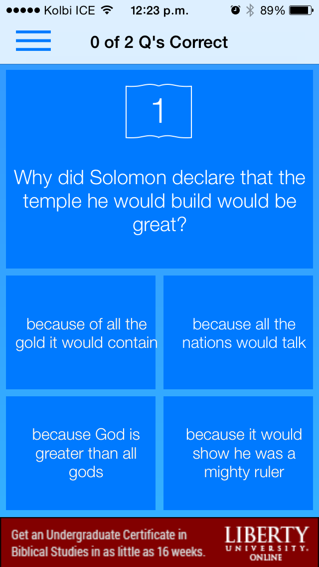 download Free Bible Trivia Quiz Game apps 2