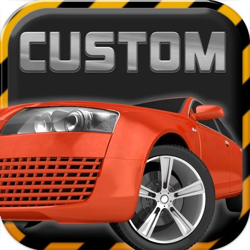 A Custom Design Race Car : Make Speed Hot Racer - Free Version