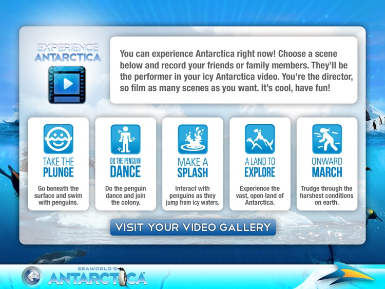 SeaWorld's Antarctica for iPad