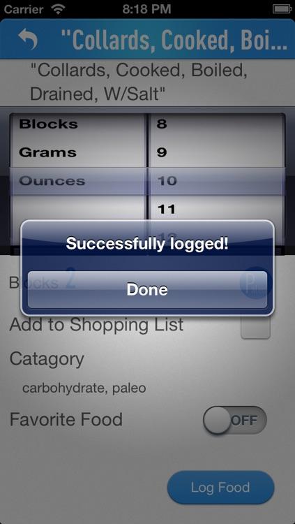 Food RX (Free)- Paleo & zone diet app screenshot-4