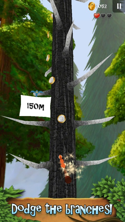 Nuts!: Infinite Forest Run screenshot-2