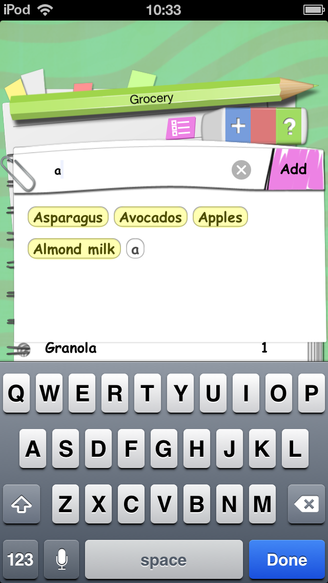 Easy Shopping - Grocery List Free screenshot two