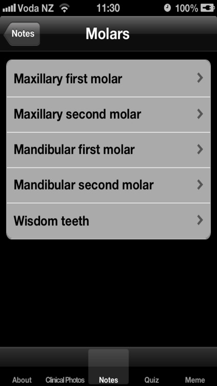 Tooth Morphology Exam preparation