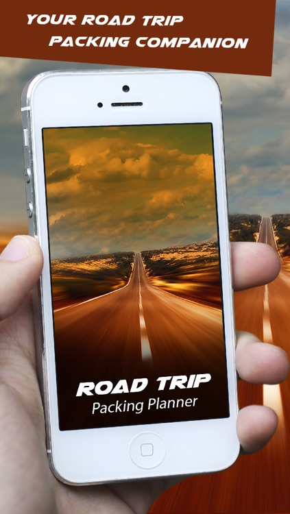 Road Trip Packing Planner - List of things that you should pack for a summer or winter Car/Bus Roadtrip