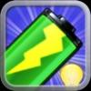 Battery Tips! Free! 〜 バッテリーの電力レベル及びヘルスステータスをチェックし、壁紙や電池アイコンなど自由にカスタマイズできる