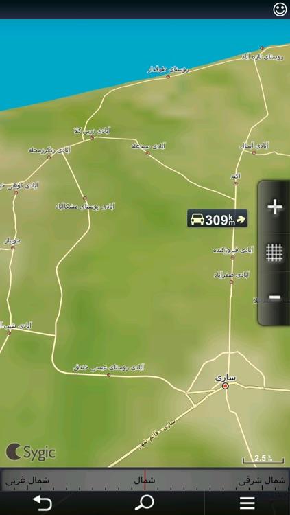 Sygic Iran: GPS Navigation screenshot-4