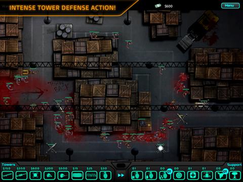 SAS: Zombie Assault TD HD iPad app afbeelding 3