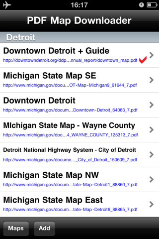 Detroit Maps - Download Smart Bus Maps and Tourist Guides. screenshot 2