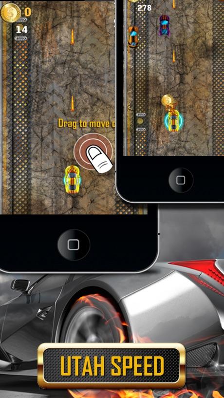 Utah Salt Flats Car Racing FREE: Bonnerville Turbo Speed Driving Game