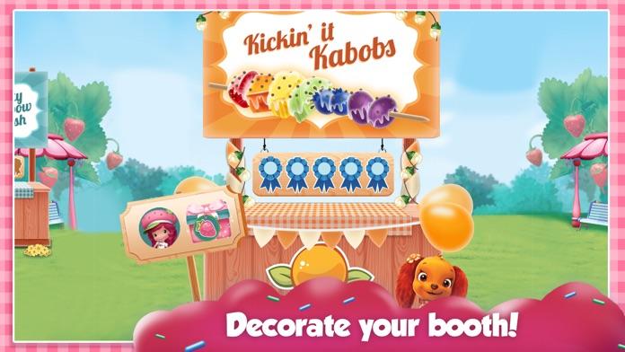 Strawberry Shortcake Food Fair Screenshot