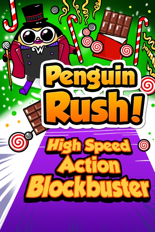 Penguin Rush! - Valentine's Day Special screenshot-0