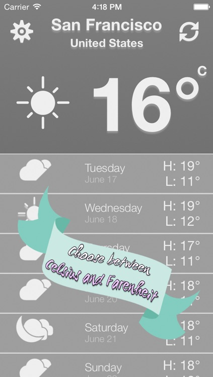 Weather Everywhere Minimalist - Weather forecast quick and simple screenshot-3
