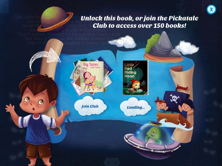 Little Red Riding Hood - Have fun with Pickatale while learning how to read! screenshot-4