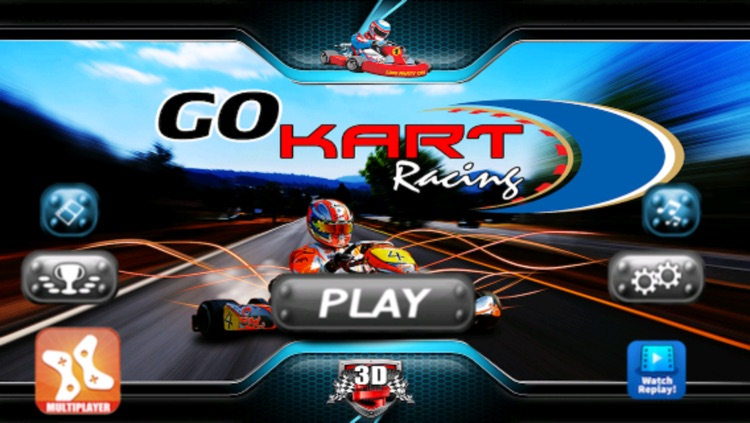 Go Kart Racing 3D - Free Multiplayer Race Game